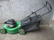 Starker Benzin-Rasenmäher ALKO Metall Gehäuse