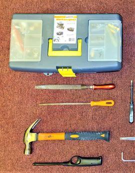 Bild 4 - Werkzeug Kiste Konvolut Werkzeugkiste Zange - Glonn