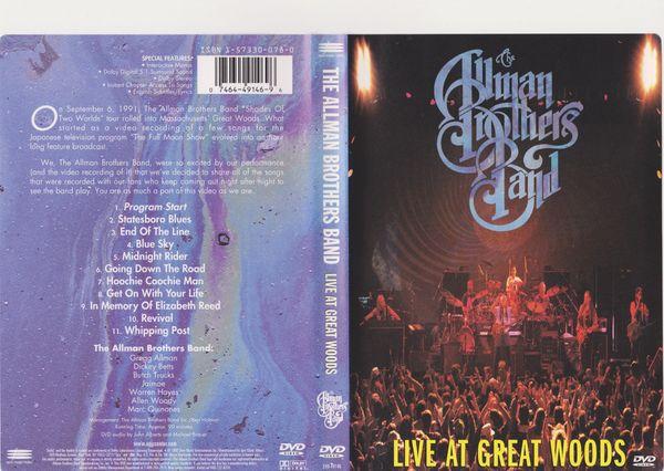 Musik - DVD Allman Brothers Band