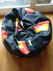 Sitzsack Fußball mit Deutschland Motiv