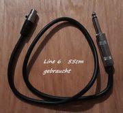 Funkstreckenkabel für Bodypack mit RT4