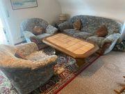Neuwertige 3 er Couch mit