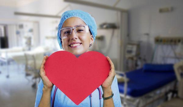 Krankenschwester w m d - Raum