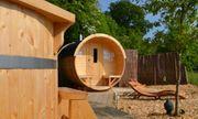 Saunafass Sauna 58mm Wandung Umkleideraum