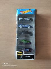 Hot Wheels Batman 5er Pack