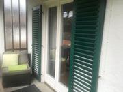 Fensterläden grün mit Lamellen