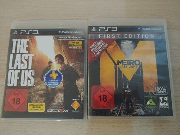 PS3 Spiele The Last of