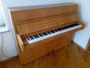 Klavier Sauter Eiche hell