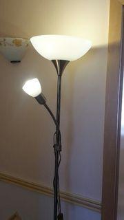 Neuwertige Stehlampe