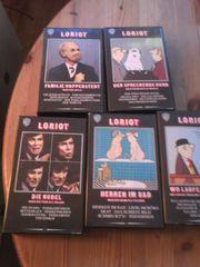 5 VHS-Kassetten Loriot