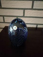 Ei Deko blau Glassworks N