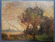 Ölgemälde Jean-Baptiste Corot Impressionismus 19