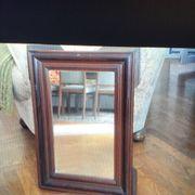 Schöne alte Spiegel Messingrahmen Holzrahmen