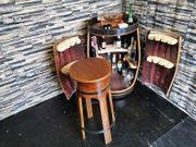 Holzfass Bar Kreative Möbel aus