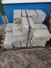 Granit-Mauersteine 40 20 20