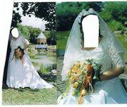 Brautkleid mit Zubehör zu verkaufen