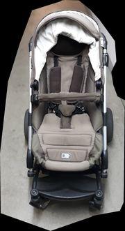 Sportwagen Kinderwagen-Kombination mit Babyschale von
