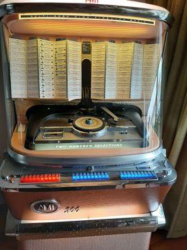 Spiele, Automaten - jukebox ami model h 200