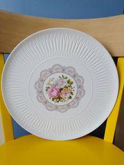 HUTSCHENREUTHER Lorenz Kuchen Tortenplatte Rosen