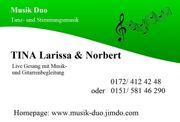 Live- und Stimmungsmusik für Weihnachtsfeiern