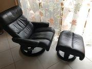 Relax Wohnzimmer Sessel Echt Leder