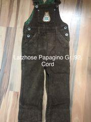 Set Cordlatzhose Gr 92 Papagino