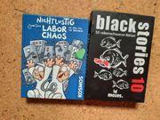 Kartenspiele Black stories 10 und