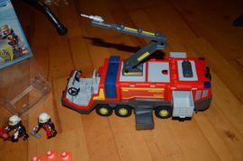 Spielzeug: Lego, Playmobil - PLAYMOBIL City Action 5337 Flughafenlöschfahrzeug