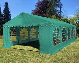 Sonstiges für den Garten, Balkon, Terrasse - Zelthandel - Partyzelt Gartenzelt 4x10m PVC