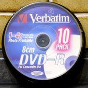 Verbatim Marken DVD-R 8cm 1