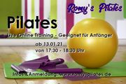 Pilatestraining live und online - Start