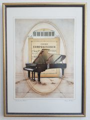 Kunstdruck Piano