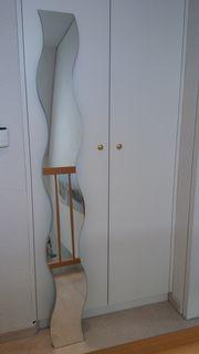 2 Spiegel in Wellenform