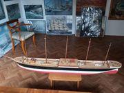 Modellrumpf Fünfmastvollschiff Preussen Maßstab 1