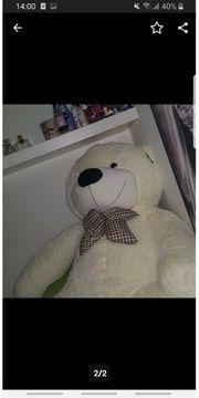 Weißer riesen Teddybär