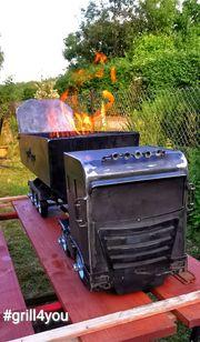 Grill Truck - LKW- BBQ Inkl