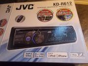 JVC Autoradio CD-Receiver KD-R612 - MP3 WMA