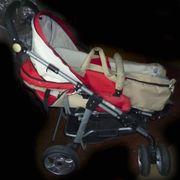 Kinderwagen Buggy neutrale Farben