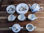 Japanisches Teeservice aus Porzellan von