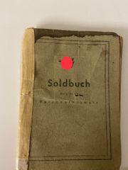 Originales Soldbuch der XX Militaria