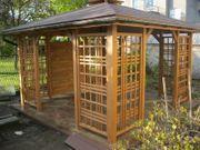 Pavillon Holzpavillon Gartenlaube 300x300 350x350