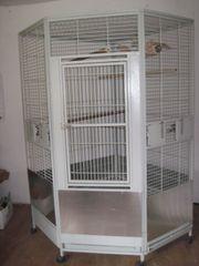 grosser Papageien Grosssittich-Käfig