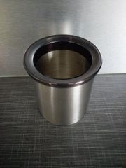 Edelstahlbehälter für Kaffeepads