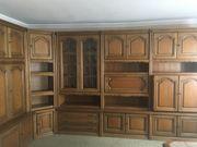 Wohnzimmer-Schrankwand zu verschenken