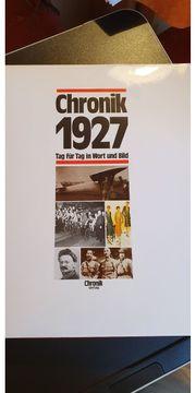Chronik 1927 ein Tag in