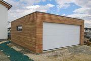 Woodline Systemgaragen Holzständerbauweise