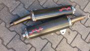 Carbon-Schalldämpfer für Ducati Monster