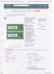 Arbeitsspeicher Acer 5755G 8GB