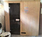 Sauna incl Ofen