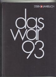 Stern-Jahrbuch Das war 1993